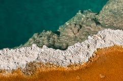 Mineralisierte heiße Feder Lizenzfreie Stockbilder