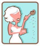 Mineralisk Makeup stock illustrationer