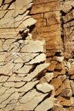 mineralisk sandstenyttersida Arkivfoton