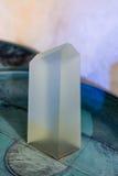 Mineralisk sten för Crystal för kvarts mineralisk kvarts för sten crystal Royaltyfri Foto