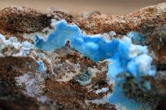mineralisk textur för abstrakt chalcedony Arkivfoton