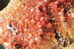mineralisk textur för vanadinite Royaltyfri Fotografi