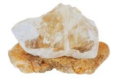 mineralisk topaz Arkivbild