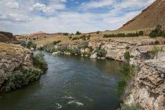 Mineraliska Hot Springs Arkivbild