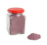 Mineralized blueberry powder. Isolated on white Royalty Free Stock Image