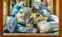 Mineralogy museum Stock Photo