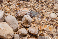 Minerals of Dead Sea Stock Images