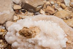 Minerals of Dead Sea Royalty Free Stock Images