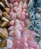 Minerals, natural color quartz Stock Photography