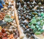 Minerals, natural color quartz Royalty Free Stock Images