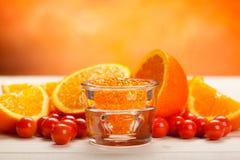 minerals orange spa Στοκ Εικόνες