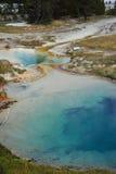 Mineraltips på Yellowstone Fotografering för Bildbyråer