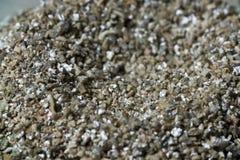 Mineralvermiculit-Proben für Produktion Stockbild
