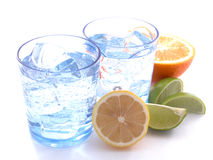 Mineralwasser stockfotografie