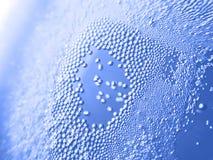 Mineralwasser der Luftblase Lizenzfreie Stockfotografie