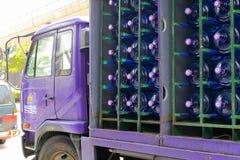 Mineralwasserwagen Lizenzfreie Stockbilder