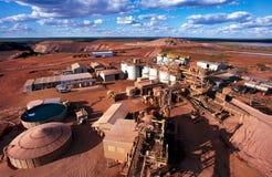 Mineração do ouro Imagem de Stock