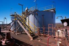 Mineração do ouro Fotografia de Stock