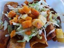 mineras d'enchiladas, nourriture mexicaine typique de l'état de Guanajuato images stock