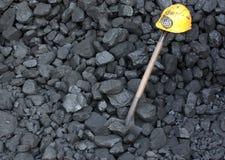 Minero de la huelga o del paro laboral Foto de archivo