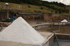minero de sal Imagen de archivo libre de regalías