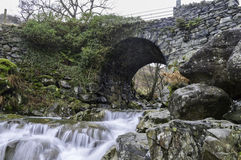 Miners Bridge in The Lake District Royalty Free Stock Image