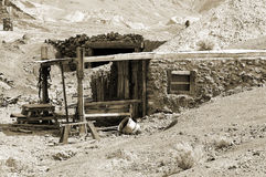 Miners Cabin royalty free stock photos
