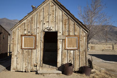 Miners Cabin Stock Photography