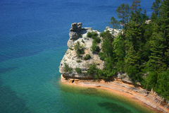 Miners Castle Royalty Free Stock Images