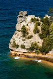 Miners castle. At Pictured Rock Stock Photo