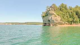 Miners' Castle, Pictured Rocks National Lakeshore, MI Royalty Free Stock Photo