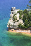 Miners Castle. Of Pictured Rocks National Park, Munising, Michigan Royalty Free Stock Photos