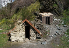Miners cottage Stock Image