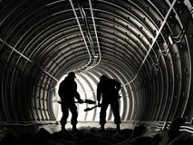 Miners royalty free illustration