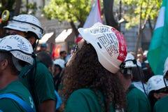 Miners' strike Stock Image