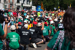 Miners' strike Royalty Free Stock Images