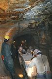 Miners working Stock Image