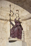 Minerva ως Dea Ρώμη Στοκ Εικόνες