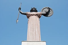 Minerva sculpture Royalty Free Stock Photo