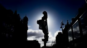 Minerva-Statue, Leeds stockfotografie