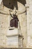 Minerva statue in Rome Stock Image