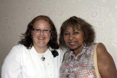 Minerva Toro met vriend Royalty-vrije Stock Foto's