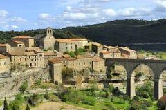 Minerve, Frankrijk stock foto's
