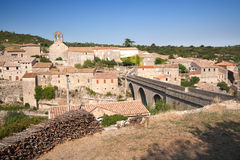 minerve wioska obraz stock