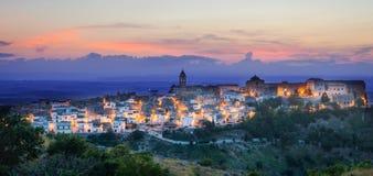 Minervino Murge, Puglia, Italia Imágenes de archivo libres de regalías