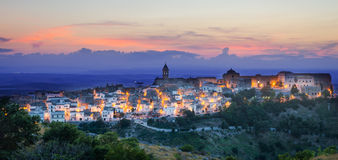 Minervino Murge, Puglia, Italy Royalty Free Stock Images