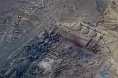 Minery del mineral de la refinería de petróleo imagen de archivo libre de regalías