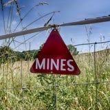 Mines Photographie stock