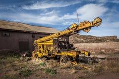 Mines abandonnées d'Alquife de machines Photo libre de droits