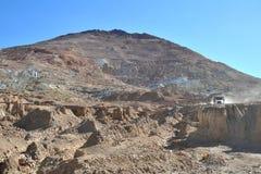 Mines argentées de Potosi images libres de droits